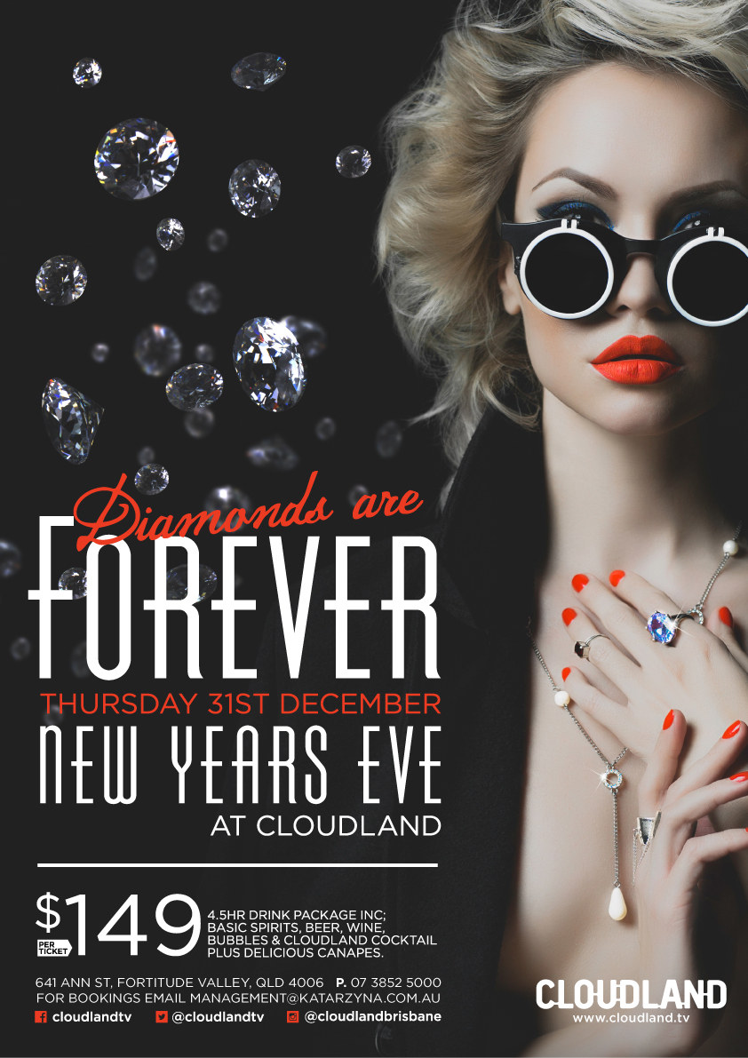 New Year's Eve 2016 – Diamonds Are Forever