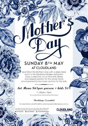 Mother's Day at Cloudland