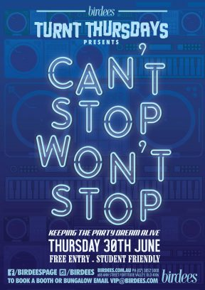 Turnt Thursdays presents Can't Stop Won't Stop!