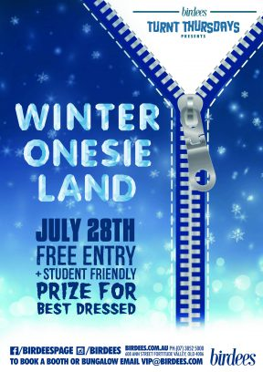 Turnt Thursdays presents Winter Onesieland!