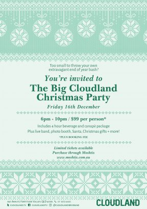 The Big Cloudland Christmas Party!