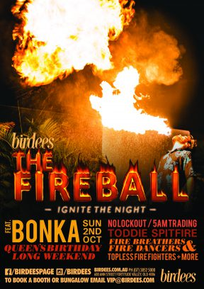 The Fire Ball | Queen's Birthday Long Weekend