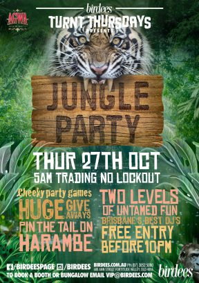 Agwa Jungle Party [Turnt Thursdays] – 27th October 2016