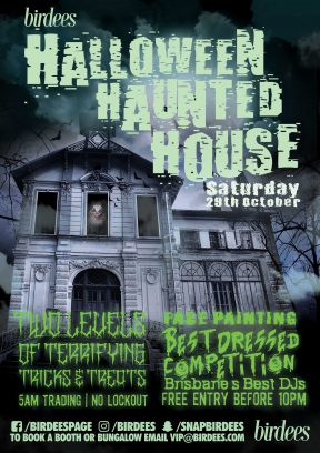 Birdees presents Halloween Haunted House