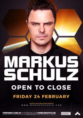 Markus Schulz (Open To Close) at Family