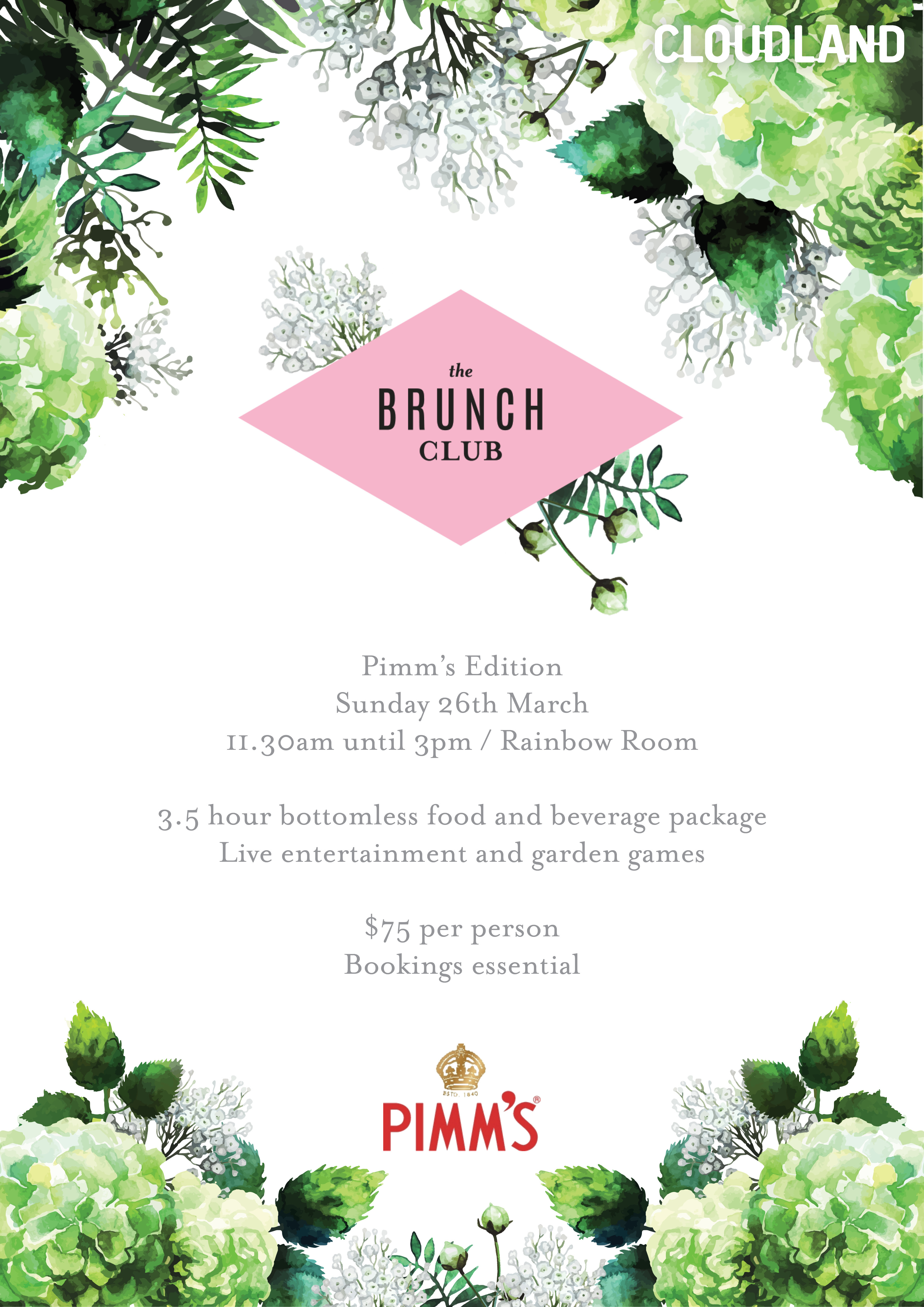 The Brunch Club | Pimm's Edition