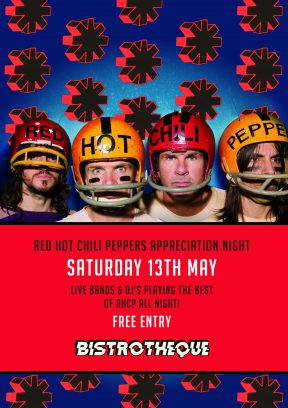 Red Hot Chili Peppers Appreciation Night | Hosted by Bistrotheque