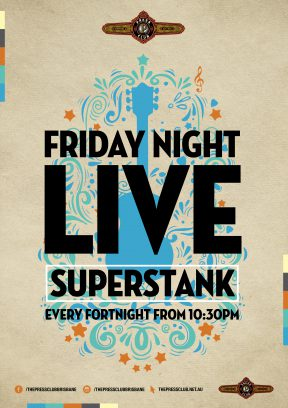Friday Night Live ft. Superstank