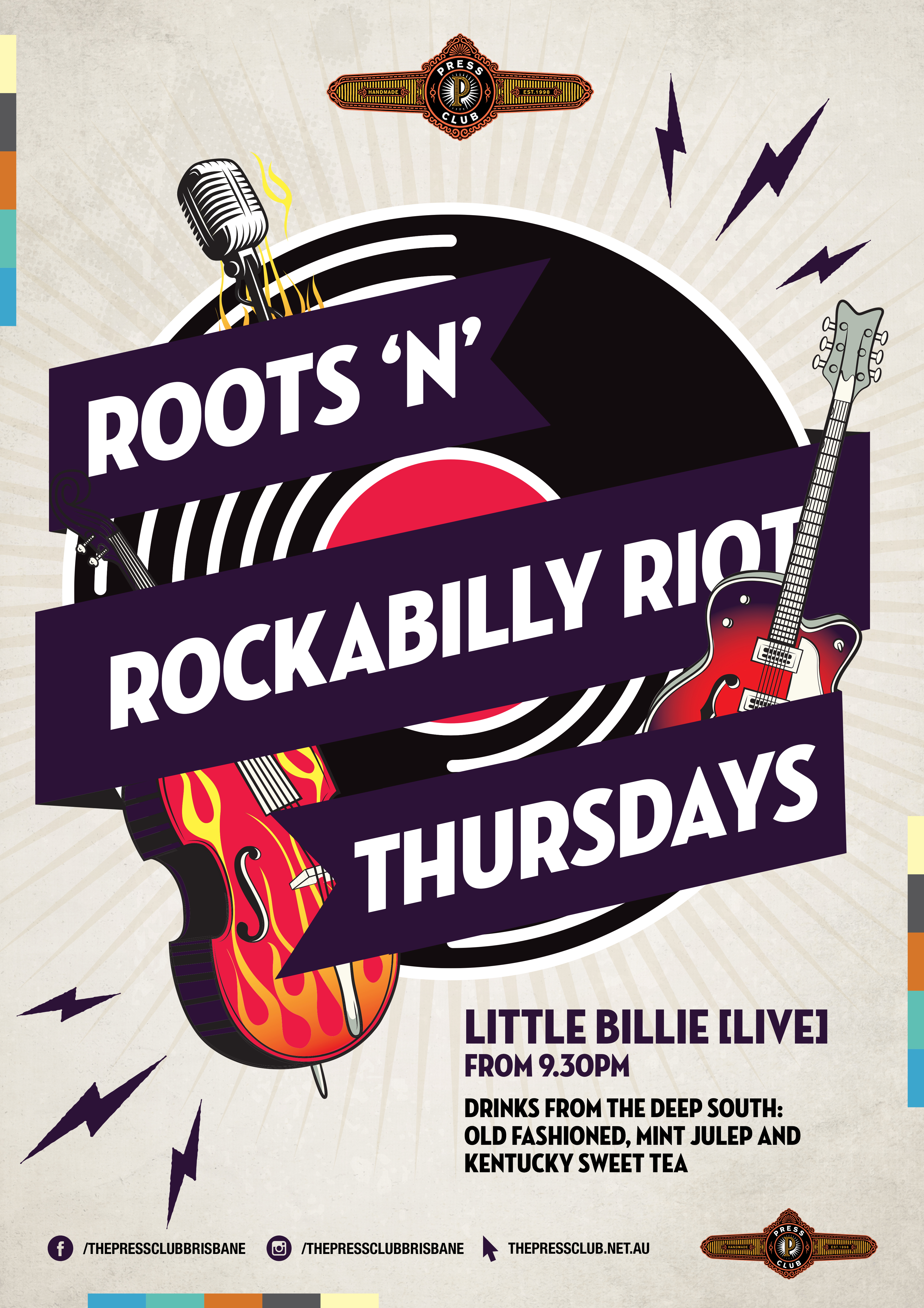 Roots n Rockabilly Riot Thursdays